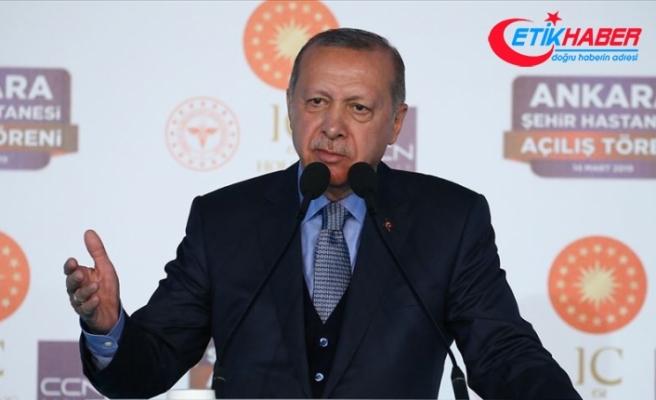 Cumhurbaşkanı Erdoğan: Hemşirelerimizin 3600 ek gösterge meselesini çözeceğiz
