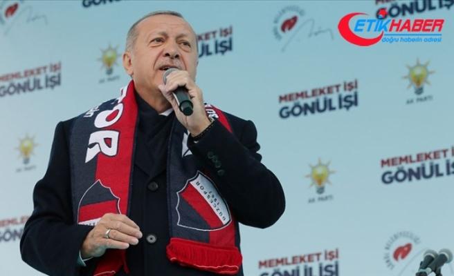 Cumhurbaşkanı Erdoğan: Sandığa gitmemek ülkeye ve millete ceza vermektir