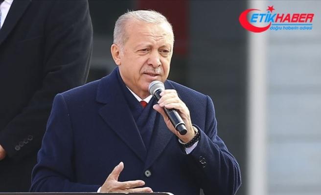 Cumhurbaşkanı Erdoğan: Siz söylemezseniz biz ilan edeceğiz