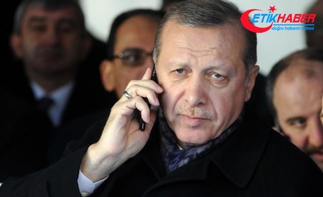 Cumhurbaşkanı Erdoğan'dan Karamollaoğlu'na taziye telefonu