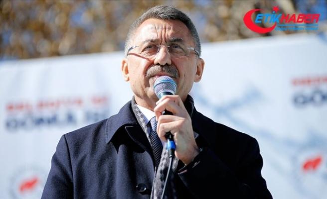 Cumhurbaşkanı Yardımcısı Oktay: ABD'nin Golan Tepeleri kararı gayrimeşrudur