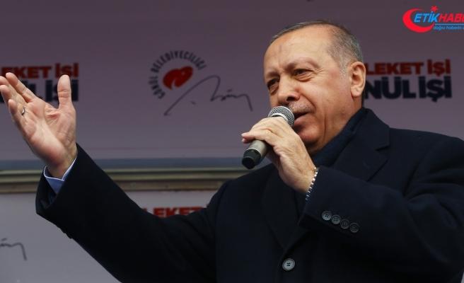 Cumhurbaşkanı Erdoğan: Bay Kemal sen Kandil'in yandaşısın