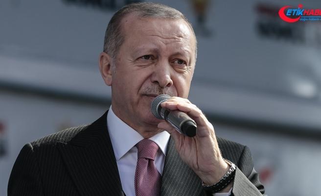 Erdoğan: Ayasofya'yı seçimden sonra tekrar müzeden isim olarak camiye çevireceğiz