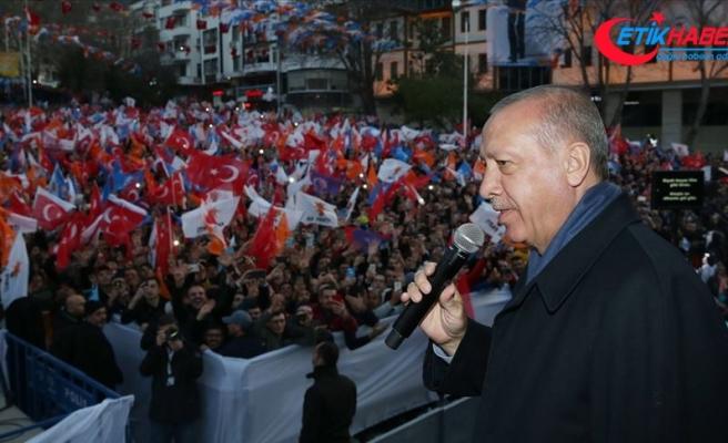 Cumhurbaşkanı Erdoğan: Terör örgütleri konusunda ikircikli davranma döneminin kapanması gerek