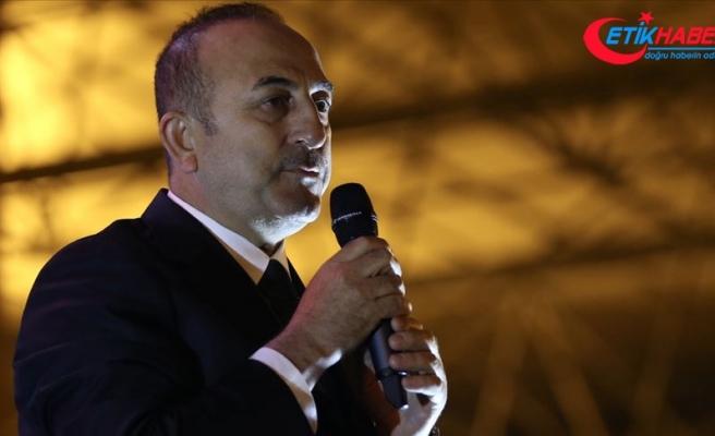 Dışişleri Bakanı Çavuşoğlu: Bunları bir araya getiren FETÖ, PKK ve diğer terör örgütleridir