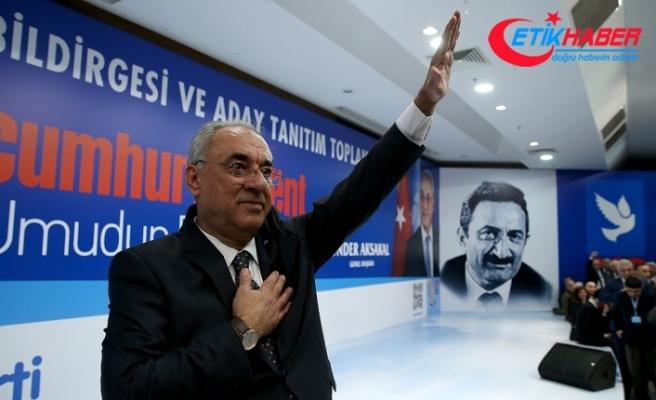 DSP Genel Başkanı Aksakal: CHP'nin belirli isimlerini DSP'ye katma çalışmamız asla olmadı