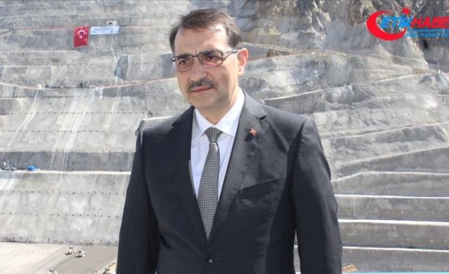 Enerji ve Tabii Kaynaklar Bakanı Dönmez: Enerjide dışa bağımlılığı azaltmak zorundayız