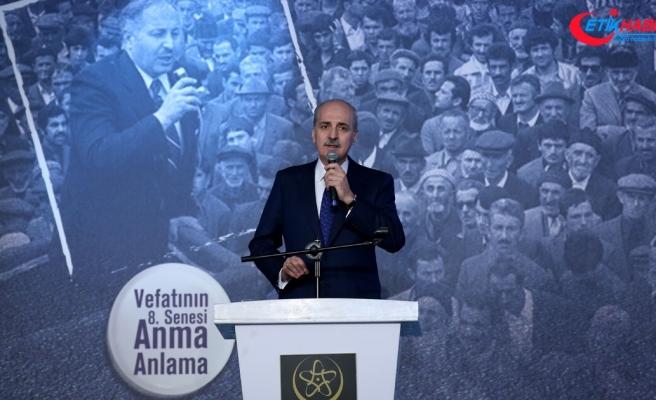 'Erbakan'ın siyaset fikrinin merkezinde millete güven vardı'