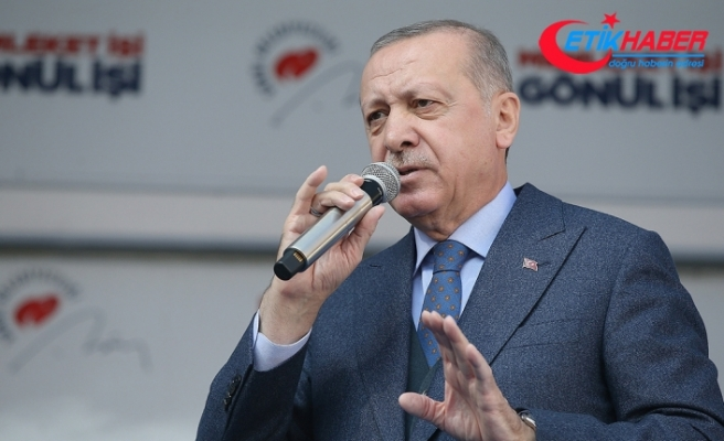 Erdoğan: Beraberliğimize fitneyle saldıranlar pusuda bekliyor