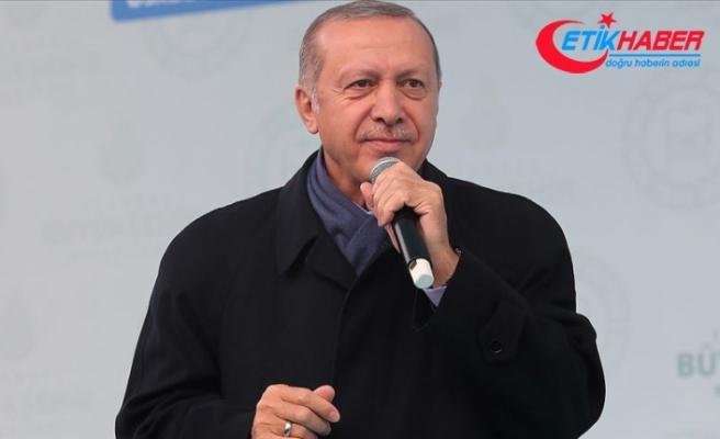 Erdoğan: Gebze-Halkalı Banliyö Hattıyla günde 1 milyon 700 bin yolcu taşınacak