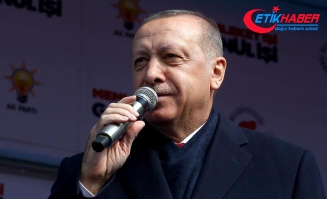 Erdoğan: İnşallah enflasyon tekrar yüzde 6'lara, 7'lere kadar düşecek
