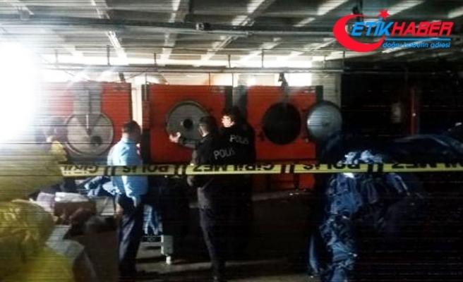 Esenyurt'ta iş yerinde patlama