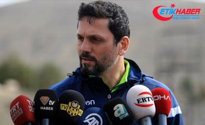 Evkur Yeni Malatyaspor'da ilk 6 hedefi değişmedi