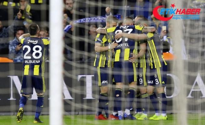Fenerbahçe evinde güldü