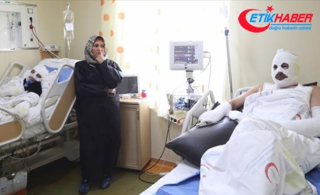 Gaz kaçağını çakmakla kontrol eden çift hastanelik oldu