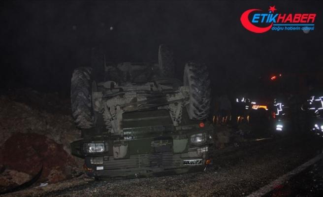 Hatay'da askeri araç devrildi: 5 yaralı
