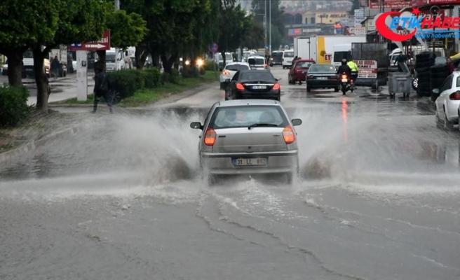 Hatay için 'çok kuvvetli yağış' uyarısı
