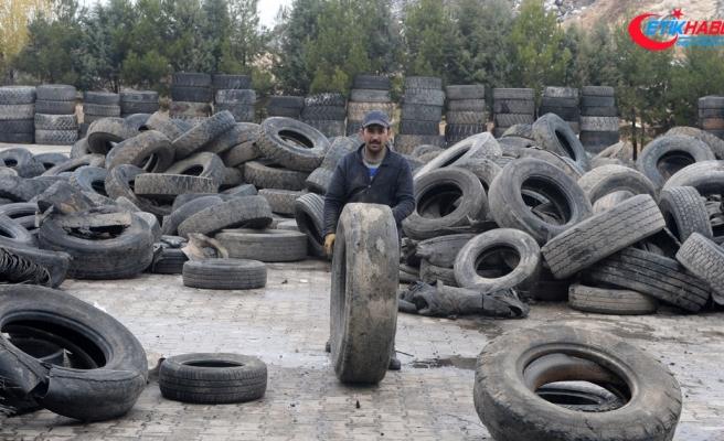 Hurda 178 bin 133 ton lastik geri kazandırıldı