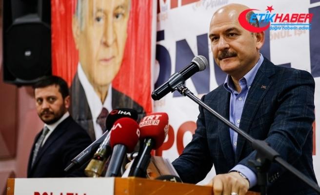 İçişleri Bakanı Soylu: Bundan sonra teröristler kafalarını bile çıkaramayacaklar
