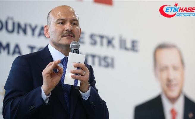İçişleri Bakanı Soylu: PKK'ya haraç toplamış bir kişiden aday olur mu?