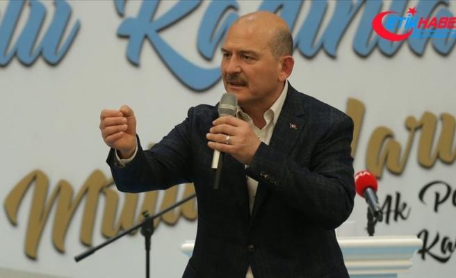 İçişleri Bakanı Soylu: Teröristler bırakın dağlarda yürümeyi kafalarını çıkaramayacaklar