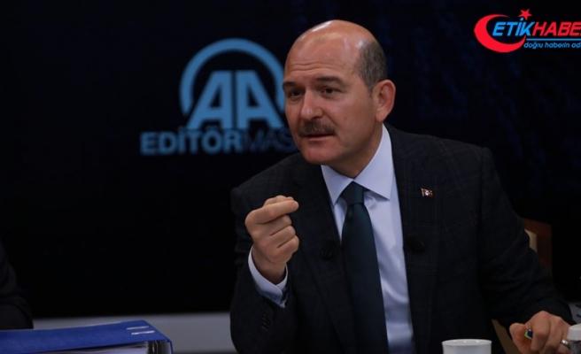 İçişleri Bakanı Soylu: Trafik ışıkları veya polis varsa geçiş üstünlüğü hakkını onlar verir