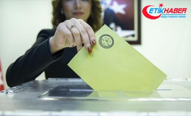 32 ilde oy verme işlemi bitti
