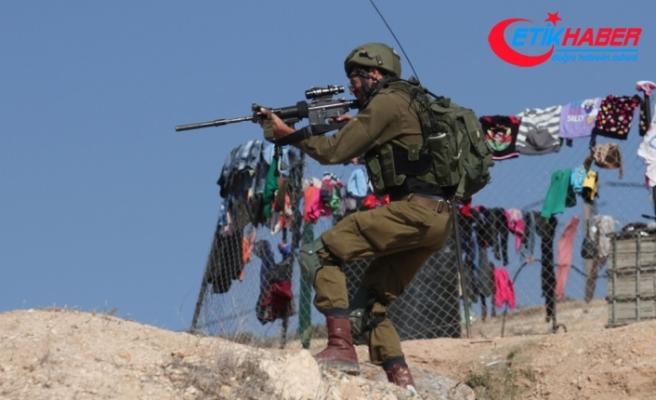 İsrail askerleri iki Filistinliyi yaraladı