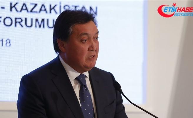 Kazakistan Başbakanı Mamin: Türk dili konuşan ülkeler ekonomik iş birliğini aktifleştirmeli