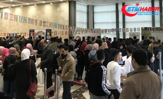 Lübnan'da öğrenci buluşması ve Türk üniversiteleri fuarı düzenlendi