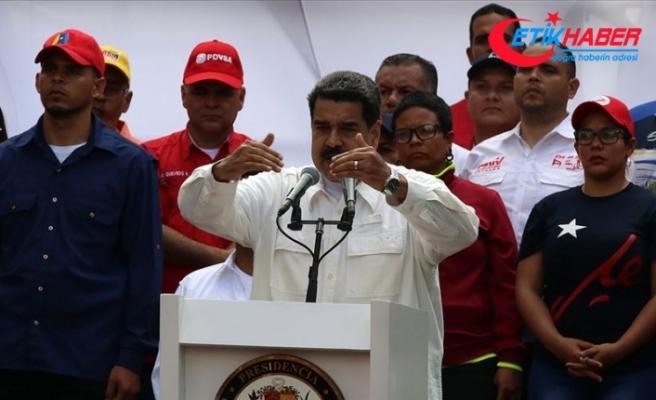 Maduro ülkedeki elektrik kesintisinden ABD'yi sorumlu tutuyor