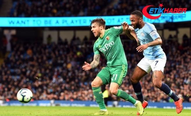 Manchester City Sterling ile kazandı