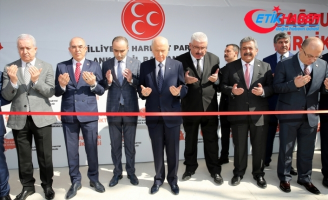 MHP Lideri Bahçeli: Ya beka ya bela; ya zillet ya millet, ya cumhur ya da hezimet