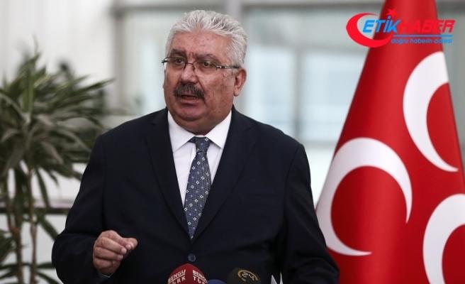 MHP'den 'sağlam duruş' açıklaması