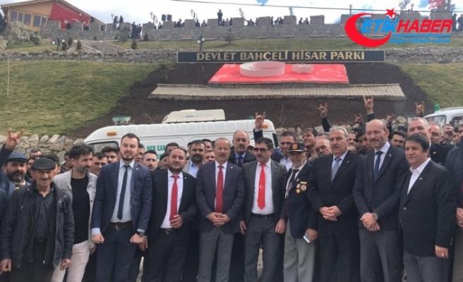 MHP'li Taytak Büyükkalecik'te Devlet Bahçeli Hisar Parkı'nın açılışını yaptı