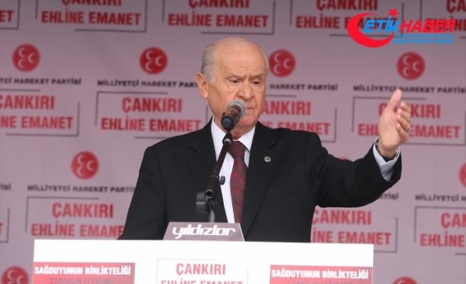 MHP Lideri Bahçeli: Biz Ne Mutlu Türküm Diyenlerin son kalesiyiz