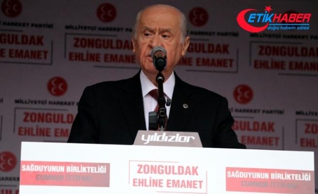 MHP Lideri Bahçeli: CHP, PKK'nın siyasi acentesi HDP'yle yol yürüyor