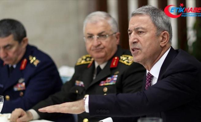 Milli Savunma Bakanı Akar: F-35'lerin Kasım'da Malatya'ya gelmesini bekliyoruz