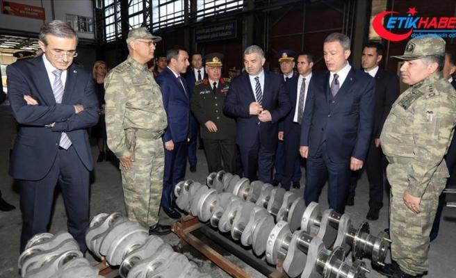Milli Savunma Bakanı Akar Kayseri OSB'yi ziyaret etti