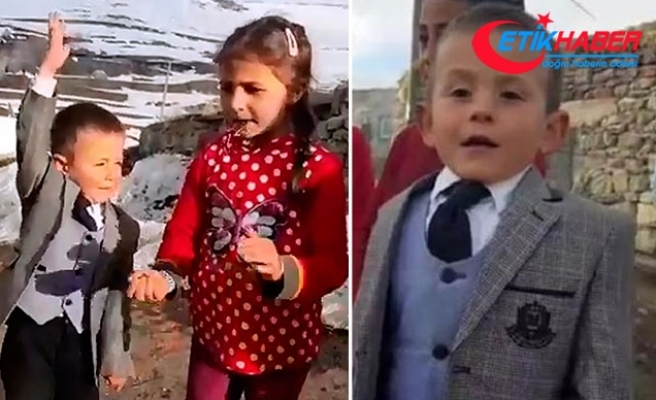Muhtarlık seçimlerinin sembolik adayı Çağatay'dan çikolata vaadi