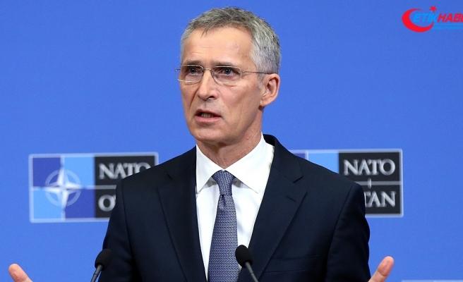 NATO Genel Sekreteri Stoltenberg: Suriye'de barışçıl çözüm çabalarından memnunuz