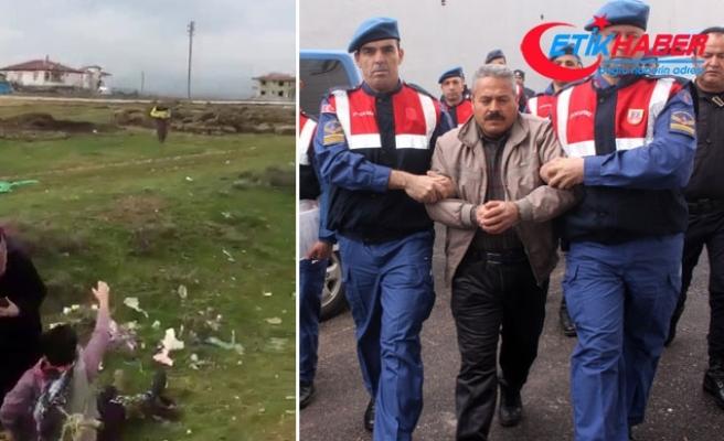 Öldürülen çiftçi, katilini ve olay anını kaydetmiş