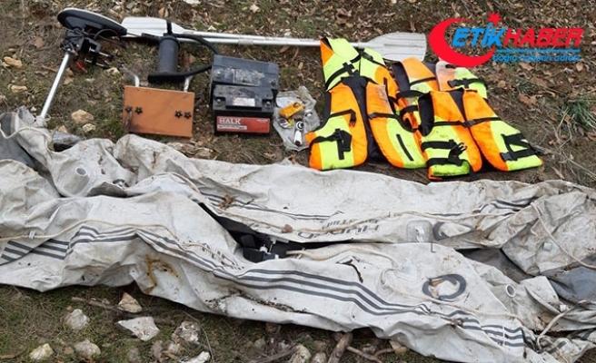 PKK'lı teröristlere ait bot ele geçirildi