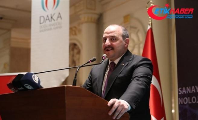 Sanayi ve Teknoloji Bakanı Varank: Hedefiniz yeni pazarları keşfetmek olmalı