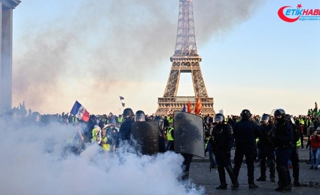 Sarı yeleklilerin gösterilerinde polis şiddetinin bilançosu