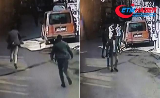 Şehrin göbeğinde demir duba ve bıçaklı kavga: 2 yaralı, 5 gözaltı