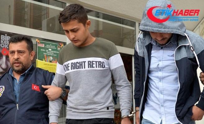 Telefon gaspçıları tutuklandı