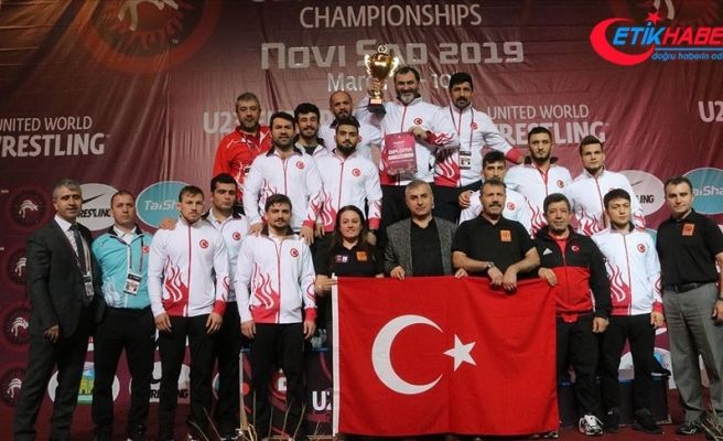 Türkiye Güreş Federasyonu Başkanı Aydın: Sırbistan'da tarih yazdık