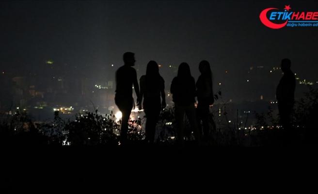 Venezuela'nın büyük bir bölümü yine karanlığa gömüldü