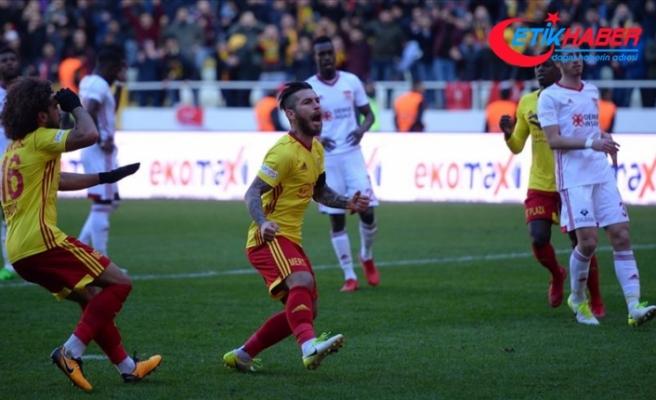 Yeni Malatyaspor Sivas deplasmanında